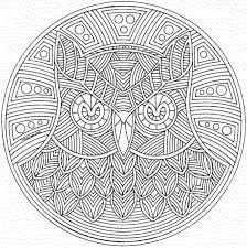 printable 24 geometric animal coloring pages 9782 cool designs