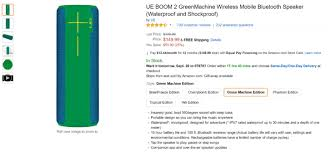 amazon black friday alert app deal alert get a logitech ue boom 2 in any color for just 149 99