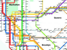 Brooklyn Subway Map by 13 Fake Public Transit Systems We Wish Existed Wired