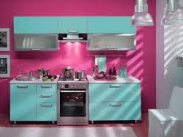 modern kitchen colors red pink and turquoise kitchen painting and