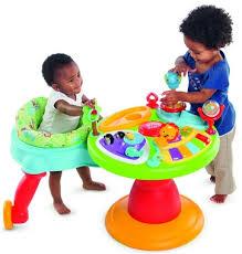 table activité bébé avec siege jouets broze table d activites siege tournant