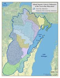 Green Bay Wisconsin Map by Green Bay Basin Inland Aquatic Ecosystems Status And Trends