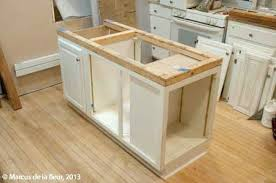 build a kitchen island best 25 build kitchen island ideas on base cabinet how