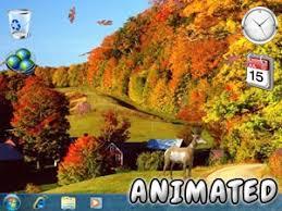 imagenes animadas de otoño fondo de pantalla de hojas cayendo animadas fondo animado otoño