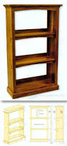 craftsman style bookcase plans furniture plans and projects