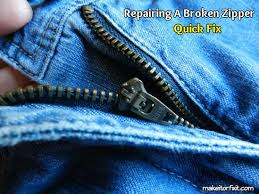 How To Make A Cushion With Zip How To Quickly Repair A Broken Zipper