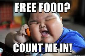 Free Food Meme - fat kid problem free food fat kid problems