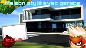 Maison Modern Minecraft by Visite D U0027une De Mes Maison Moderne Avec Garage Fonctionnel Sur