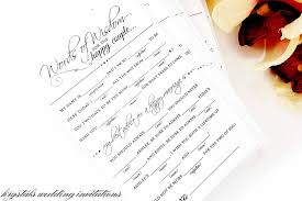 Wedding Mad Lib Template Diy Printables Diy Wedding Mad Lib Advice Card Template