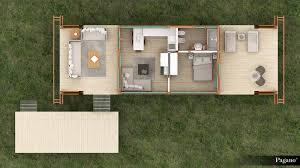 small houses projects capanno residenziale 35 metri quadri tiny houses pinterest
