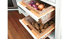 kitchen cabinets baskets kitchen cabinet vegetable storage medium size of cabinet styles