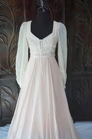 vintage ivory u0026 pink gunne sax jessica mcclintock dress size 9 by