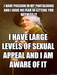 Old English Rap Meme - image 180191 joseph ducreux and meme