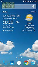 clock and weather widgets for android weather clock widget android for android free at apk