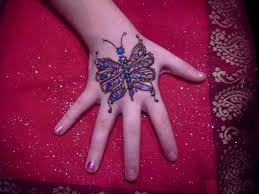 simple and easy mehndi designs for children