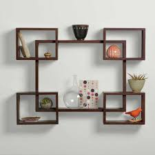 20 ways to contemporary wood shelving