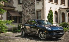 porsche macan interior 2017 2017 porsche macan in depth model review car and driver