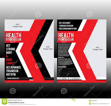 fitness flyer template fitness flyer template stock vector image of health 38065884