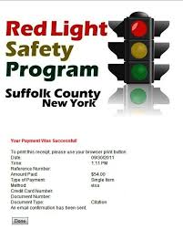 traffic light camera ticket i got my first red light camera ticket law legally long island