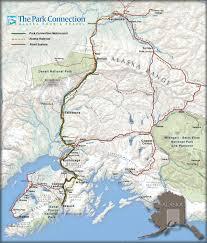 Alaska bus travel images Alaska map park connection bus line jpg