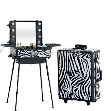 Professional Makeup Stand Travel Makeup Case With Lights Images