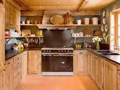 cuisine chalet montagne décoration intérieur chalet montagne 50 idées inspirantes