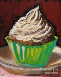 whipped cream painting by john klein