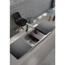 Large Single Bowl Kitchen Sink by Clearwater Glacier Large Single Bowl Stainless Steel Sink Gla300