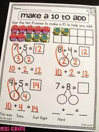 second grade division worksheets make 10 maths math understanding