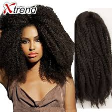 ombre marley hair 18 20roots black afro kinky crochet braid hair synthetic