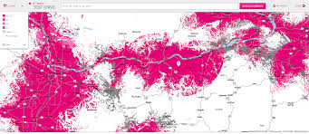 Sprint Coverage Map Michigan by Coverage Map Update Tmobile