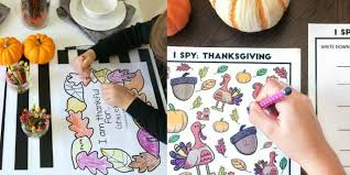 30 thanksgiving activities for thanksgiving crafts