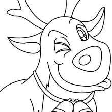 santa u0027s reindeer coloring pages 22 xmas coloring books