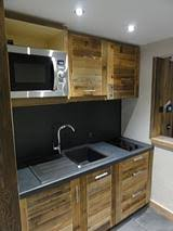 cuisine chalet bois agencement decoration interieur savoyarde agencement chalet savoie