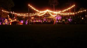 Industrial String Lights by Outdoor Party Solar String Lighting All About House Design