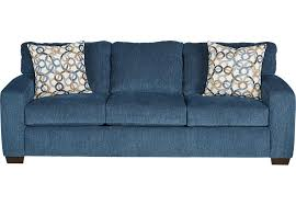 Chenille Sleeper Sofa Lucan Navy Sleeper Sofa Sleeper Sofas Blue