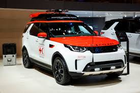 customized range rover 2017 project hero land rover discovery designed to help red cross save