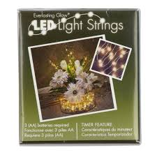 Battery String Lights With Timer by Light String By Ashland Everlasting Glow 36