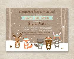 woodland baby shower invitations 30 woodland baby shower invites you d go for momooze