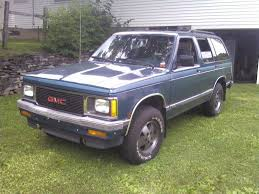 gmc jimmy 1988 1992 gmc jimmy specs and photos strongauto