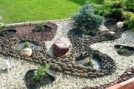 Rocks For Rock Garden Pebble Rock Garden Designs Cactus Rock Garden Ideas River Rock