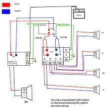 subwoofer wiring diagrams and amp kwikpik me