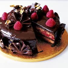 Cake Eric Lanlard U0027s Glamorous Chocolate Cake Woman And Home