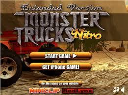 miniclip monster truck nitro 2 great free monster truck online gamesmonster trucks hq