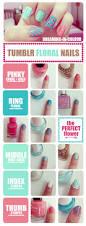 megoosta fashion nail art floral nails
