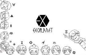 Yeol Explore Yeol On Deviantart Coloring Pages Kpop