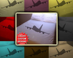 Airplane Bedding Sets airplane bedding etsy