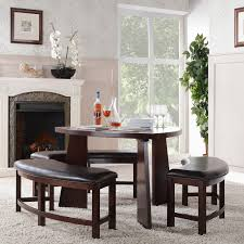 Dining Room End Chairs Person Wooden Based Dining Furniture Set Brown Leather Natural