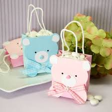 favor bag mini teddy favor bag