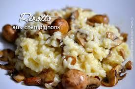plats faciles cuisiner risotto aux chignons la recette délicieuse et facile petits